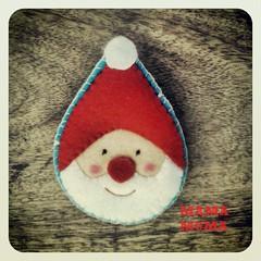 ho ho ho Feliz navidad! (MamaMuma Handmade Lifestyle!!) Tags: santa christmas navidad handmade felt noel papa claus artesania fieltro papano