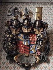 Uppsala (Suecia). Catedral. Escudo (santi abella) Tags: uppsala suecia herldica catedraldeuppsala