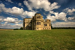 Lyveden New Bield (Andy Watson1) Tags: new old uk family blue light shadow summer england sky white house building green english history tourism grass st architecture clouds canon shadows estate britain united great northamptonshire property sigma kingdom august tourist symmetry historic east peter national trust unfinished british mansion elizabethan manor nationaltrust corby polariser lyveden bield lyvedennewbield aldwinkle 450d tresham
