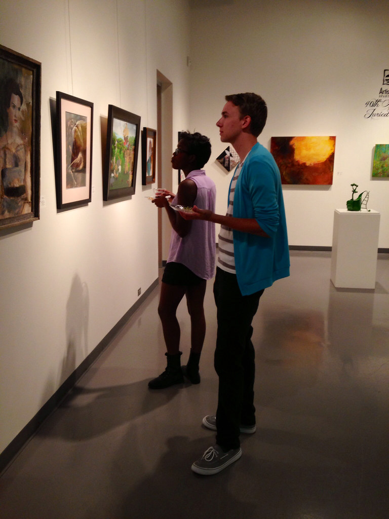 September 2013 Art Walk and the Siblings Exhibit Opening Reception