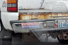 SOCIALISM (rosencrans) Tags: maine pickup bumpersticker capitalism socialism