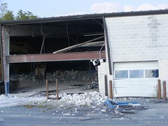 Forbes Chevrolet Comimg Down (dfirecop) Tags: chevrolet construction pennsylvania pa chevy dealership camphill dfirecop