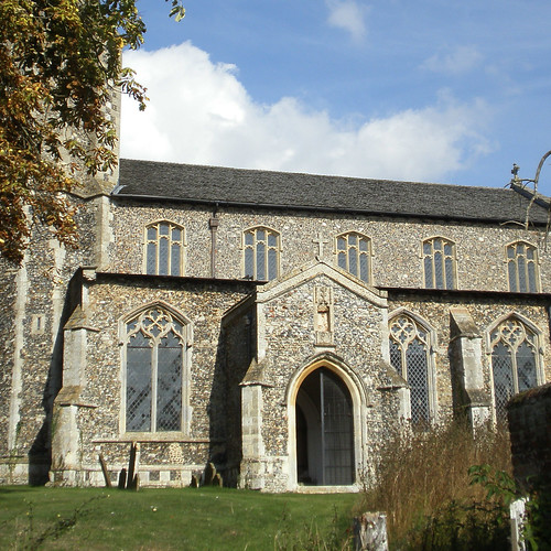 St Andrew, Wingfield, Suffolk