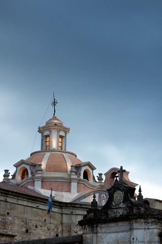 Cúpula de la iglesia de la Estancia Jesuítica de Alta Gracia