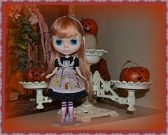 Sadie Searching for Pumpkins
