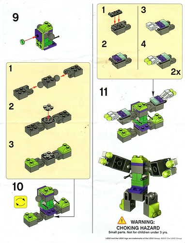 Lego Tru Joker Mini Mech Instructions A Photo On Flickriver