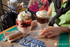 Ghirardelli (nickdeclercq) Tags: travel ice de photography orlando downtown photographer florida nick cream disney lilly liliana ghirardelli clercq 2011 smets