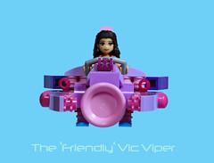 Friends Vic Viper (Bricksky) Tags: pink friends lego contest vic viper challenge moc