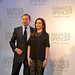 Marc Bolland CEO Marks and Spencer with Mrs Tina Ambani at flagship store opening in Mumbai