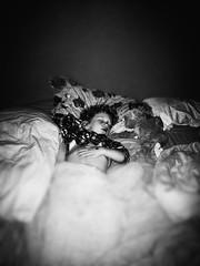328 of 364 - passed out ([ the black star ]) Tags: boy sleeping blackandwhite bw kid bed things kingston blanket stuff asleep shrug preschooler noirfilter 328365 theblackstar threehundredtwentyeight uploaded:by=flickrmobile flickriosapp:filter=noir
