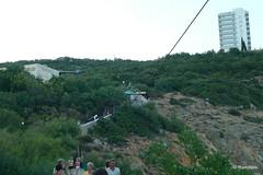 Ласточкино гнездо, вид на лестницу с которой мы пришли