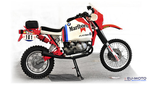 BMW Boxer Paris Dakar Motorrad ☆ Copyright © 2013 Bernhard Egger :: eu-moto images All rights reserved 5727