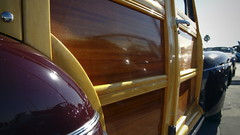 Ford Woody (Yessir Youarefat) Tags: cars ford losangeles woody van rare classiccars carshow streetsweeper breakfastclub petersenautomotivemuseum petersenmuseum cruisein collectorcars restoredcars breakfastclubla