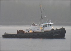 Tug Jennie B (chartan) Tags: fog alaska tugboat workingboat tongassnarrows