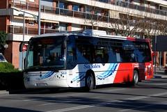 Matar, Avinguda del Maresme 21.01.2014 (The STB) Tags: bus matar touring scania 555 560 autobs noge l94ub sagals intercityii sagals560