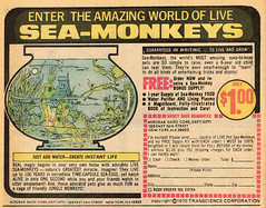 Vintage Ad: Sea-Monkeys '71 (jbcurio) Tags: seamonkeys comicbook vintagead