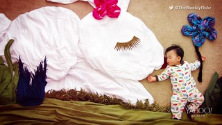 Mom creates fairy tales with napping son: It's no surprise most moms consider naptime their favorite time of day; relishing the few quiet and peaceful hours while their babies sleep, but California mom and artist Queenie Liao looks forward to the downtime