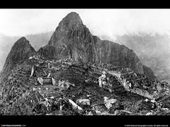 Machu Picchu, Peru, 1912