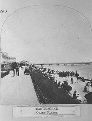 E01346 Grand Parade (East Sussex Libraries Historical Photos) Tags: pier seaside victorian eastbourne leisure bathing seafront 1860s eastsussex 1870s grandparade