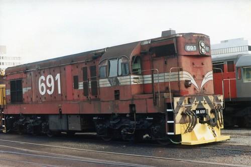 DA 691 05/1986 Wellington, NZ