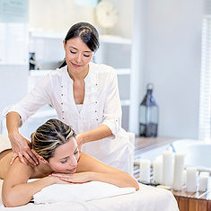 Masseuse massaging a woman customer at the spa (johnherbert4) Tags: masseuse spa woman asian massaging back customer relaxing massage backmassage spatreatment beautytreatment relax relaxation stressfree skin skincare bodycare resting cosmetic beauty cleanliness pure purity complexion fresh nude therapy pampering peaceful tranquil healthylifestyle beautiful people person youngadult latin latinamerican hispanic beautyandhealth