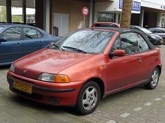 Fiat Punto cabrio 1999 nr3516 (Ardy van Driel) Tags: zgpz76 car softtop