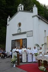 Il nostro Santuario durante una celebrazione