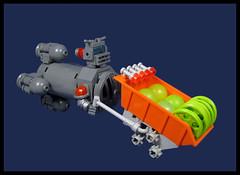Orbital Construction Droid (Karf Oohlu) Tags: lebgo moc scifi constructionbot constructiondroid