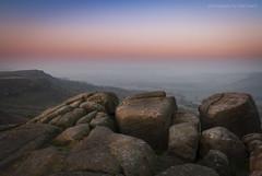 On The Edge Of Heaven (marc_leach) Tags: landscape misty sunrise curbaredge peakdistrict uk rocks view nikon