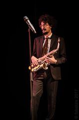 Luigi jazzman (fabakira) Tags: fabakira fabakiraphotography fabakiraphotography2017 nikon d7000 sigma sigma70200 luigigrasso luigipasqualegrassoquartet jazz quartet concert lehublot afterthecrescent musique sax saxophone alto