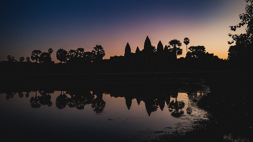 Sunrise at Angkor Wat III
