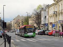 "Solaris Urbino 18 III, #5121, ""Irex Group"" dept Lublin (transport131) Tags: bus autobus ztm lublin solaris urbino irex group meteor"