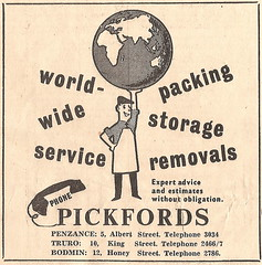 Cornish branches, 1966. (Sidmouth Ian) Tags: pickfords removals removers