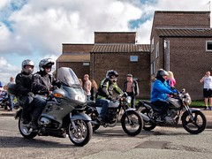 Wirral Egg Run Tribute Rideout 2017 (Ron Rabbit) Tags: wirraleggrun wirraleggruntributerideout wirral merseyside cheshire motorbike scooter trike bloodbikes airambulanceclairehouse childrenshospice charity fun easter efex hdr processed edited highdynamicrange 2017