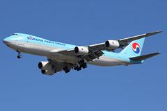 HL7624 | Boeing 747-8B5F | Korean Air Cargo (cv880m) Tags: newyork kennedy jfk kjfk airliner airplane jetliner aircraft hl7624 boeing 747 74h 7478 7478f kal koreanair koreanaircargo jumbo freighter aircargo korea 7478b5