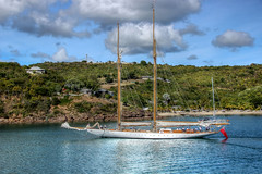 ELEONORA E , English Harbour, Antigua (robin denton) Tags: caribbean antigua westindies englishharbour boat hdr yacht schooner leewardislands eleonorae
