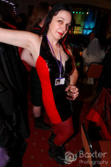 IMG_06222004_1551_DxO (PeeBee (Baxter Photography)) Tags: immortal fun party event sexy sunday whitby 2016 nov november goth gothic alternative yorkshire uk england music dance punk alt catriona cate woman brunette cleavage red black vinyl pvc dress new rock newrock boots arm pit armpit underarm