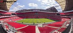Wembley Stadium (panorama), London (rvk82) Tags: 2017 april april2017 england football london nikkor1424mm nikon nikond810 rvk rvkphotography raghukumar raghukumarphotography wembley wembleystadium wideangle wideangleimages unitedkingdom gb