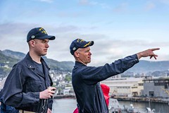 170418-N-JH293-008 (U.S. Pacific Fleet) Tags: ussgb greenbay ussgreenbay lpd20 japan sasebo bhr esg ctf76 forwarddeployed us7thfleet pacific ocean water navy ship sailors wisconsin packers vmm262 31stmeu nbu7 marines bonhommerichard bhresg patrol jpn