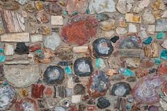 Petrified Wood Wall (thokaty) Tags: holbrook arizona route66 petrifiedwood roadtrip travelphotography