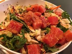 Tuna Poke Grain Bowl (mhaithaca) Tags: corelifeeatery corelife restaurant food ithaca tuna ahituna poke quinoa grainbowl