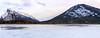 Frozen Vermilion Lake (Bluesky251) Tags: alberta banff canada cloud cold freeze frozen lake landscape melt mountains natural nature seasons skyline snow spring tourist travel trees vermilionlake white