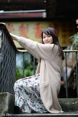 林艾欣 (玩家) Tags: 2017 台灣 台北 南機場公寓 人像 外拍 正妹 模特兒 林艾欣 定焦 無後製 無修圖 taiwan taipei portrait glamour model girl female d610 prime 戶外 outdoor 85mm tina lin