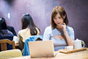 DSC_7826 (Robin Huang 35) Tags: 陳郁晴 羽晴 板橋書店 書店 vaio notebook laptop 人像 portrait lady girl nikon d810