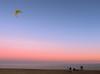 Yellow kite (Paco CT) Tags: actividad activity atardecer gente mar people playa sunset agua beach crepuscule crepusculo dusk ocaso puestadesol sea sundown twilight water barcelona spain esp beltofvenus outdoors pacoct 2017