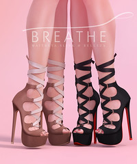 [BREATHE]-Chika Heels (Daisa Admiral) Tags: breathe secondlife heels mesh fameshed