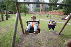IMG_8893 (tompagenet) Tags: alexander isabelle woodgreencommon playground swings