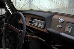 Lenker (4) (Bettina.Gerstb.) Tags: scrapyard cars rust motorcycles vintagecars schrottplatz oldtimer rost motorrad autos