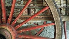 Old cart (martaxtina) Tags: cart carro decoracion pintura museodeartesytradicionespopulares madrid españa corrala tradition rastro spain