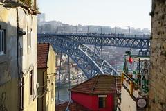 Ponte Luiz I, Porto (Marek Soltysiak) Tags: portugal porto bridge ponte luiz luis eiffel gustave
